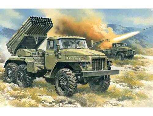 ICM Rocket launchers BM-21 degrees 1:72 (72714)