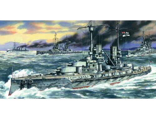 ICM Großer Kurfürst WWI German Battleship 1:350 (S002)