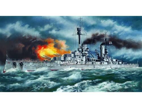 ICM Kronprinz WWI German Battleship 1:350 (S003)