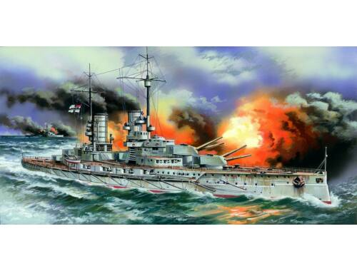 ICM Markgraf WWI German Battleship 1:350 (S005)