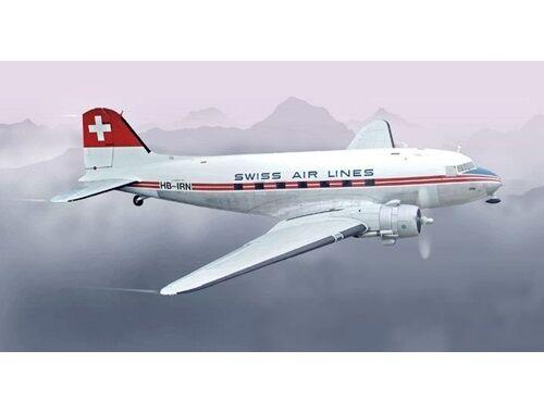 Italeri DC-3 Swissair 1:72 (1349)