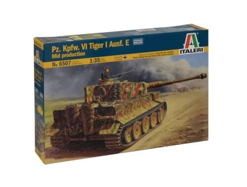 Italeri Pz.Kpfw.VI Tiger I Ausf.E Mid Production 1:35 (6507)