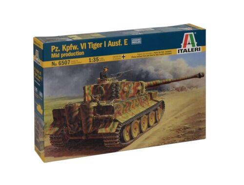 Italeri Pz.Kpfw.VI Tiger I Ausf.E Mid Production 1:35 (6507)