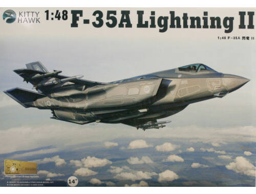 Kitty Hawk F-35A Lightning II, Version 2.0 1:48 (KH80103)