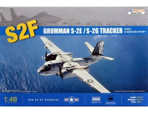 Kinetic Grumman S-2E/G Tracker 1:48 (48024)