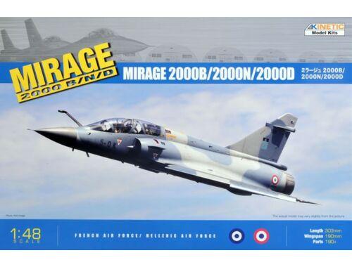 Kinetic Mirage 2000 B/D/N 1:48 (48032)
