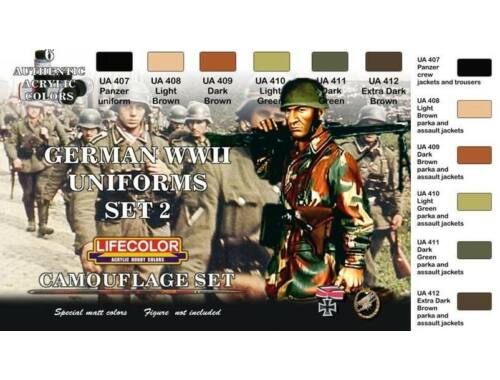 Life Color German military uniforms WWII set n.2 (CS05)