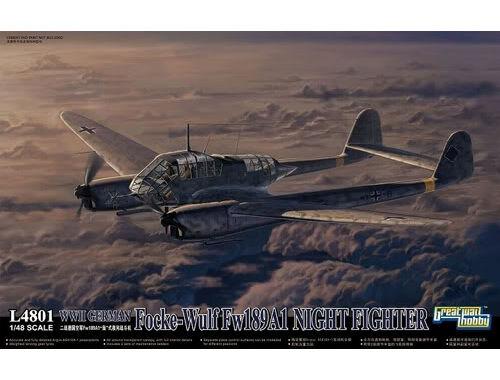 Lion Roar WWII German Fw 189A-1 Night Fighter 1:48 (L4801)