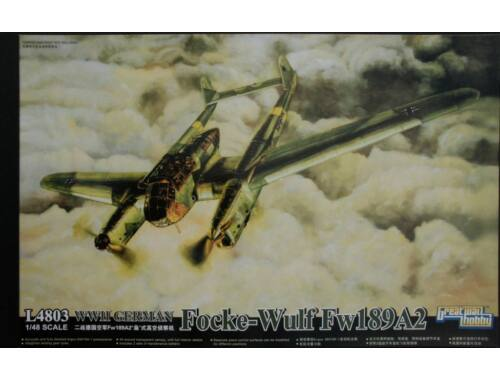 Lion Roar WWII German Fw-189 A2 1:48 (L4803)