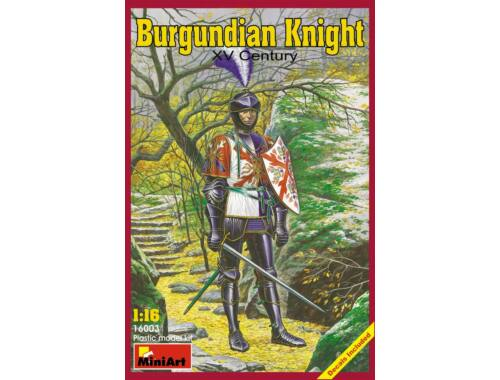 Miniart Burgundian Knight. XV century 1:16 (16003)