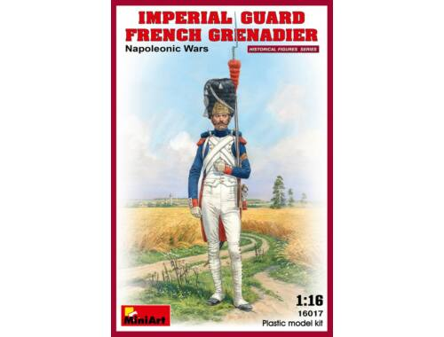Miniart Imperial Guard French Grenadier. Napoleonic Wars 1:16 (16017)