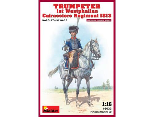 Miniart Trumpeter. 1st Westphalian Cuirassiers Regiment 1:16 (16033)