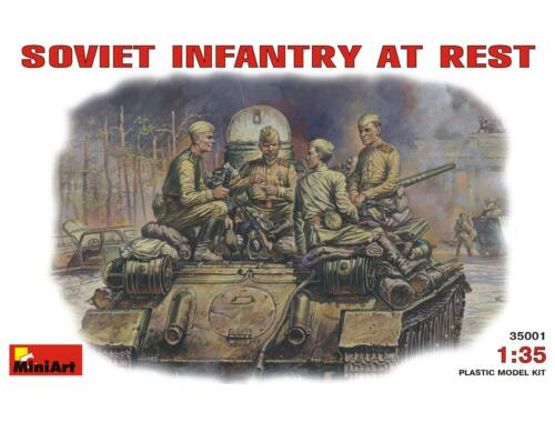 Miniart Soviet Infantry at Rest. 1:35 (35001)