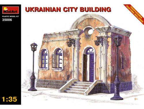 Miniart Ukrainian City Building 1:35 (35006)