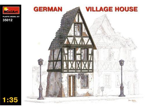 Miniart German Village House 1:35 (35012)