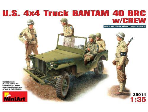 Miniart U.S. 4x4 Truck Bantam 40 BRC 1:35 (35014)