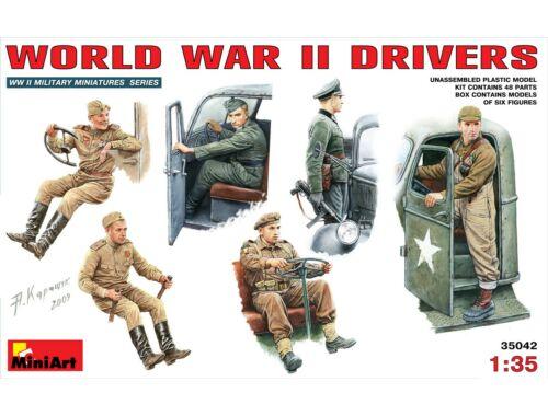 Miniart WW II Drivers 1:35 (35042)