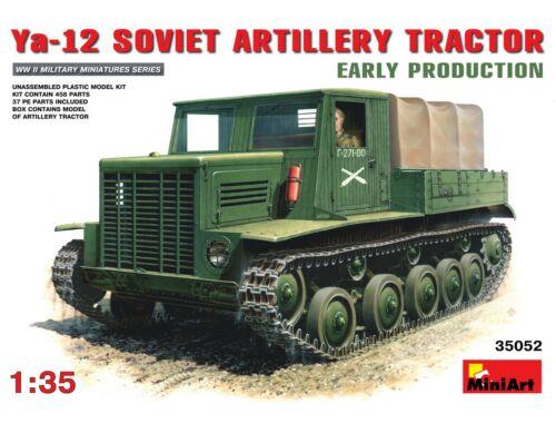 Miniart Soviet Artillery Tractor Ya-12.Early Prod. 1:35 (35052)