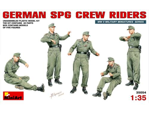Miniart German SPG Crew Riders 1:35 (35054)