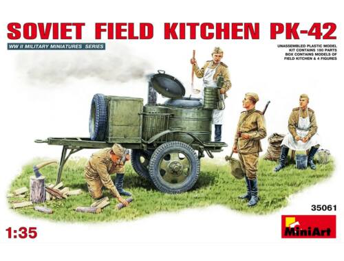 Miniart Soviet Field Kitchen KP-42 1:35 (35061)