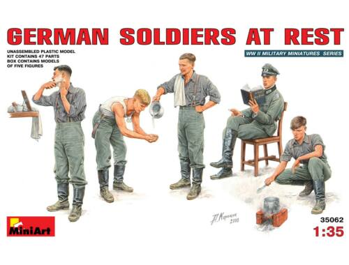 Miniart German Soldiers at Rest 1:35 (35062)