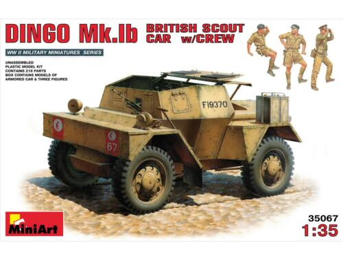 Miniart British Scout Car Dingo MK. 1b 1:35 (35067)