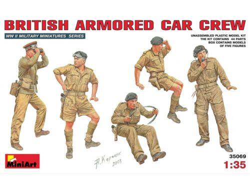 Miniart British Armoured Car Crew 1:35 (35069)