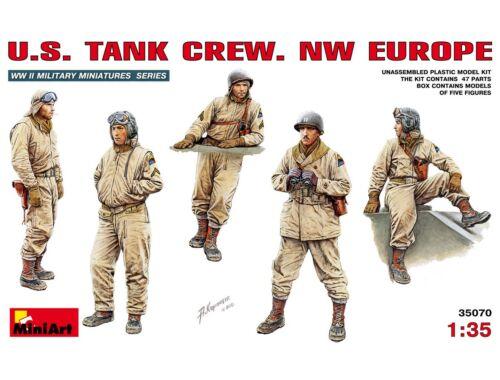 Miniart U.S. Tank Crew (NW Europe) 1:35 (35070)