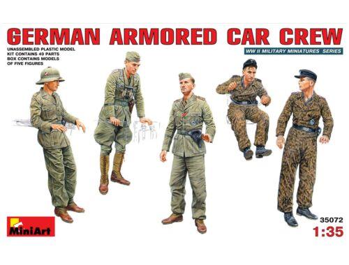 Miniart German Armoured Car Crew 1:35 (35072)