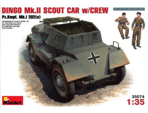 Miniart Dingo Mk II ( Pz.Kpfw.Mk 1202(e) w/crew 1:35 (35074)