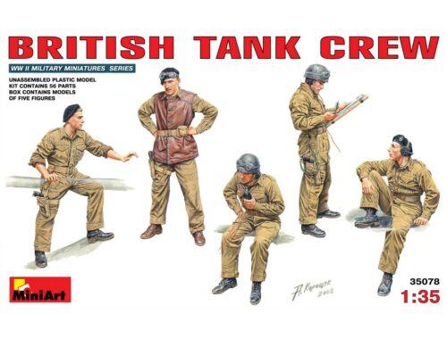 Miniart British Tank Crew 1:35 (35078)