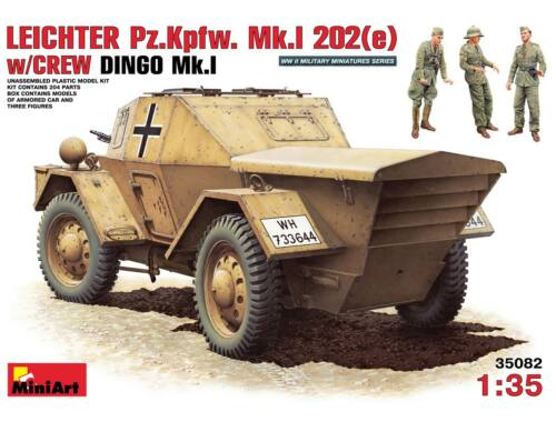 Miniart Leichter Pz. Kpfw. Mk 1202 (e). w/crew 1:35 (35082)