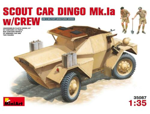 Miniart Scout Car Dingo Mk 1a w/crew 1:35 (35087)