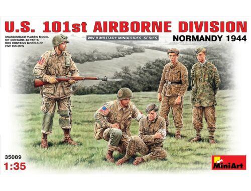 Miniart U.S. 101st Airborne Division (Normandy 1944) 1:35 (35089)