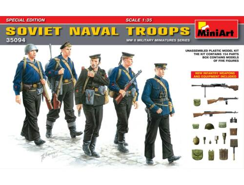 Miniart Soviet Naval Troops. Special Edition 1:35 (35094)