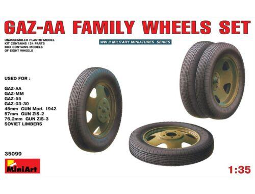 Miniart GAZ-AA Family Wheels set 1:35 (35099)