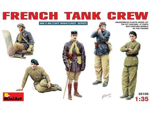 Miniart French Tank Crew 1:35 (35105)