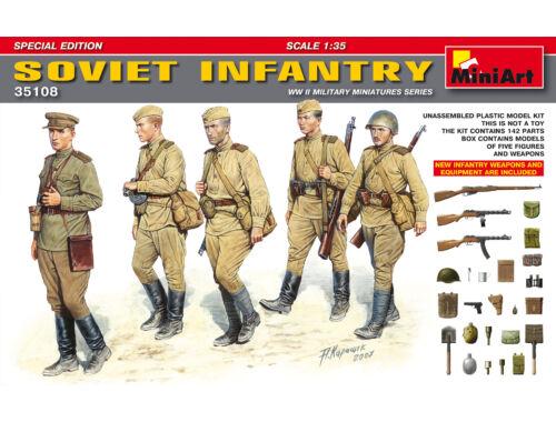 Miniart Soviet Infantry. Special Edition 1:35 (35108)