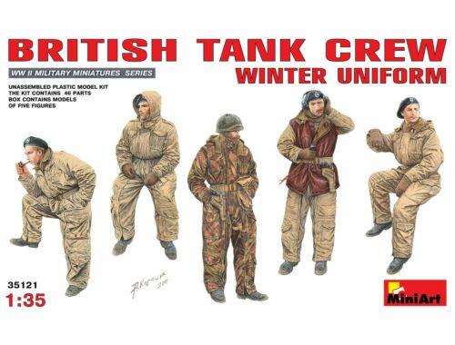 Miniart British Tank Crew (Winter Uniform) 1:35 (35121)