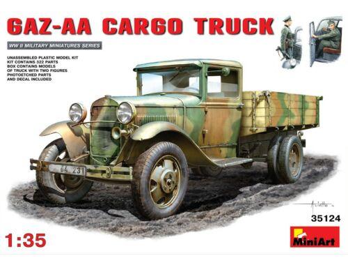 Miniart GAZ-AA ?argo Truck 1:35 (35124)