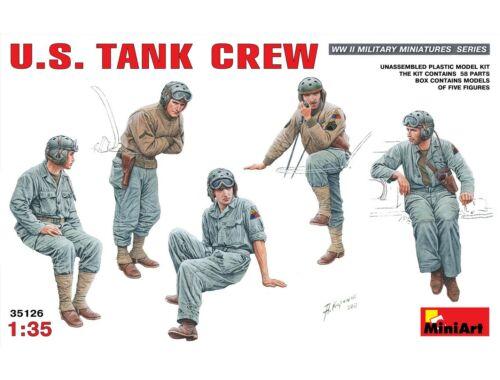 Miniart U.S. Tank Crew 1:35 (35126)
