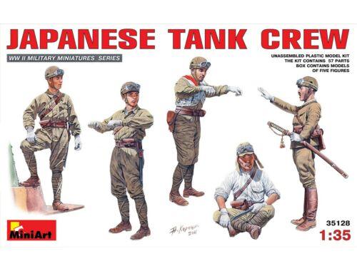 Miniart Japanese Tank Crew 1:35 (35128)