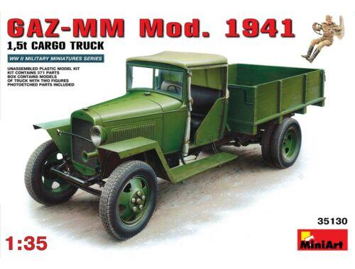 Miniart GAZ-MM. Mod. 1941. Cargo Truck 1:35 (35130)