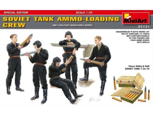 Miniart Soviet Tank Ammo-Loading Crew Set. Spec. Edition 1:35 (35131)