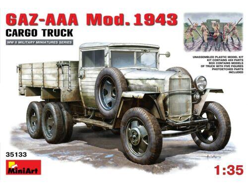 Miniart GAZ-AAA. Mod. 1943. Cargo Truck 1:35 (35133)