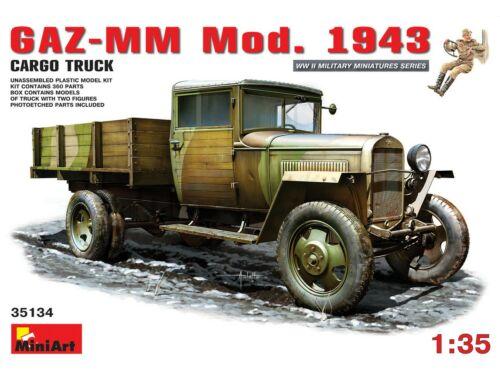 Miniart GAZ-MM. Mod. 1943. Cargo Truck 1:35 (35134)
