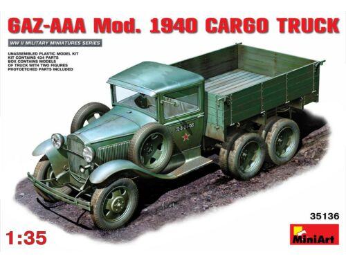 Miniart GAZ-AA?. Mod. 1940. Cargo Truck 1:35 (35136)