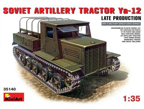 Miniart Ya-12 Late Prod. Soviet Artillery Tractor 1:35 (35140)
