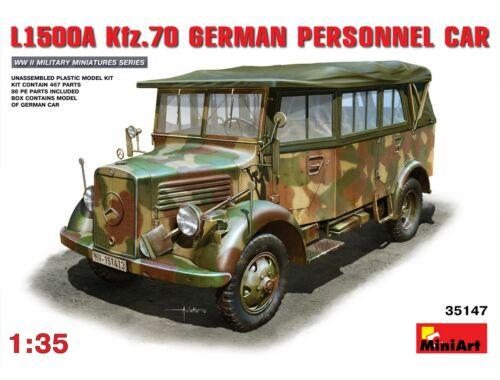 Miniart L1500A (Kfz.70) German Personnel Car 1:35 (35147)