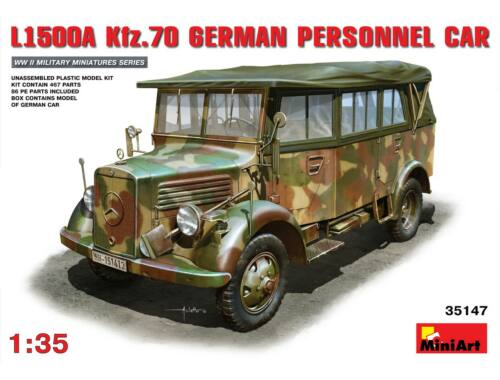 Miniart L1500A (Kfz.70) German Personnel Car 1:35 (35147)